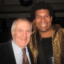 with John Kander in 2011