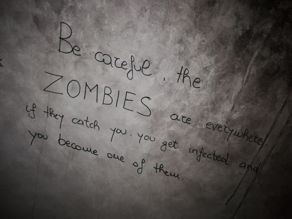 Stay Away From The Zombies