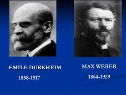 emile durkheim max weber