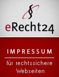eRecht24 - Siegel Impressum