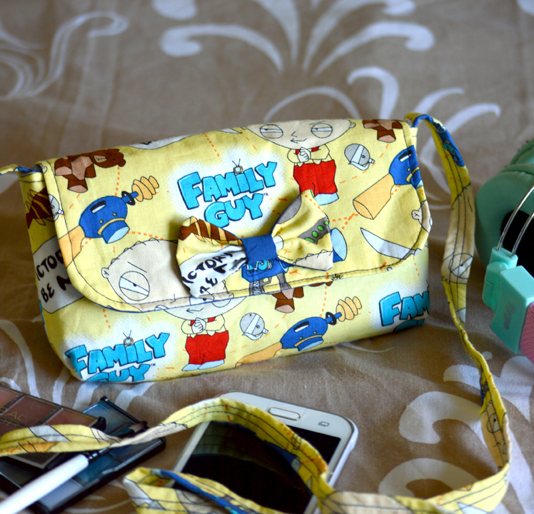 Family Guy Bag / Clutch Featuring Stewie - My Everlasting