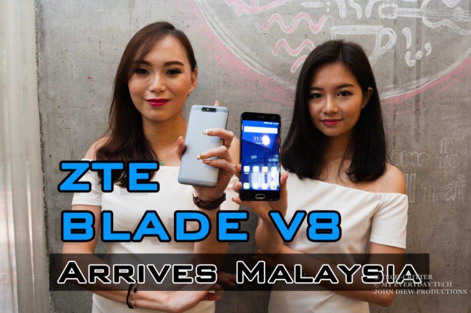 ZTE Blade V8 Malaysia Launch