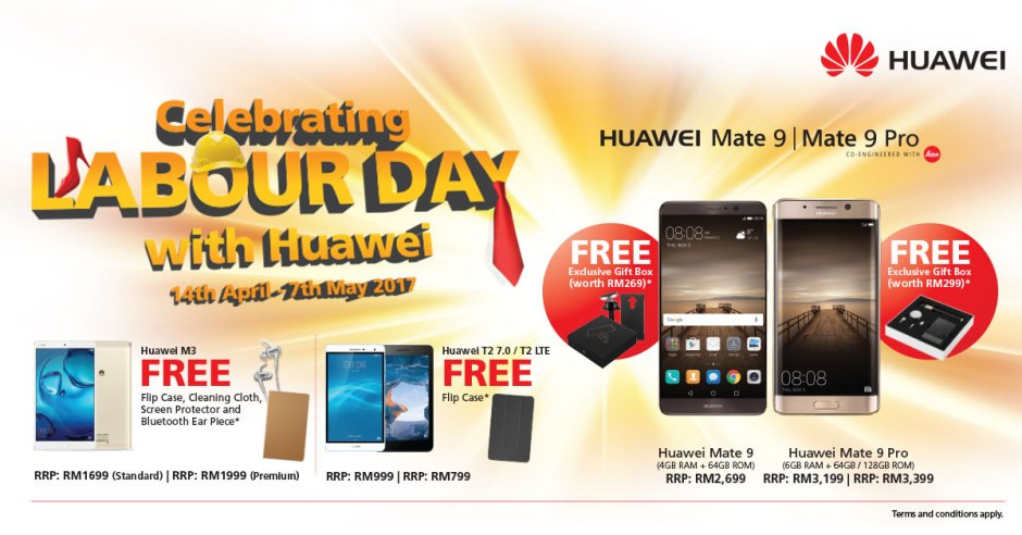 Huawei Labour Day Promotion