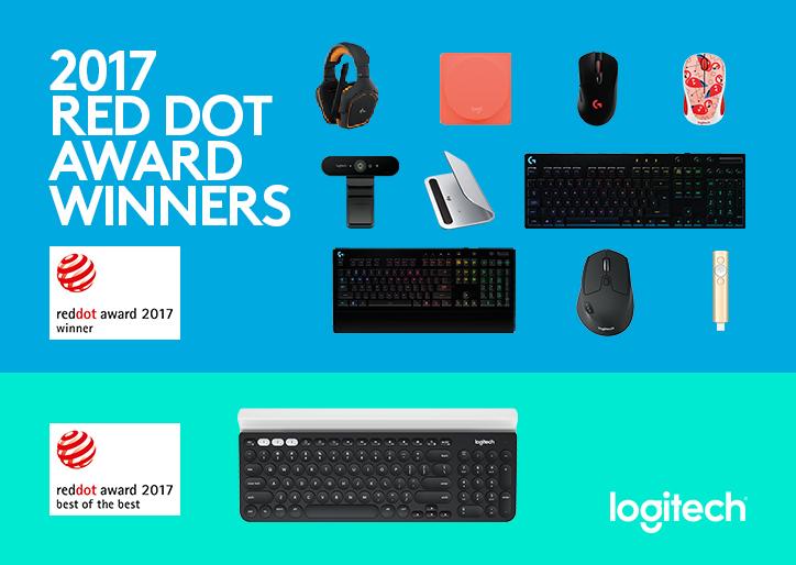 Logitech Red Dot 2017