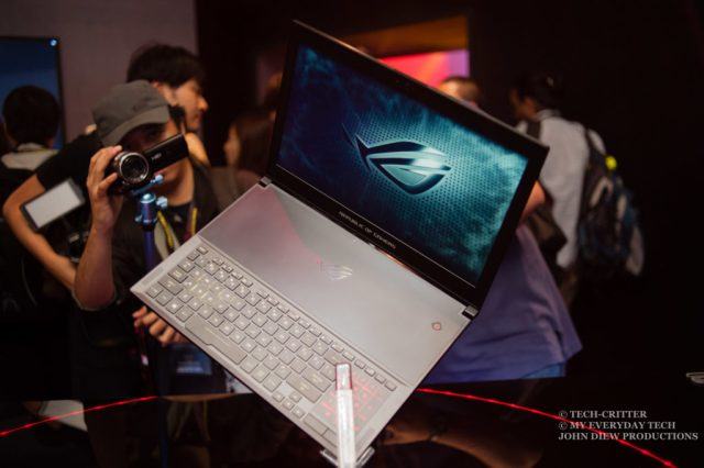 Zephyrus is ASUS ROG's Ultra Slim Gaming Laptop with GTX 1080 9