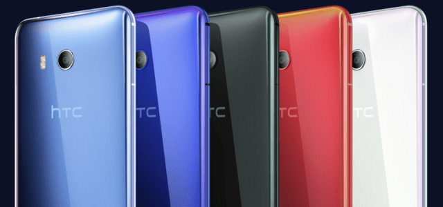 HTC U11 Squeezable Phone Unveiled 3
