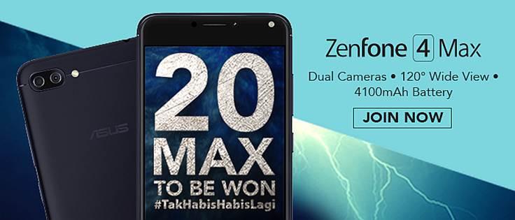 ASUS ZenFone 4 Max #TakHabisHabisLagi