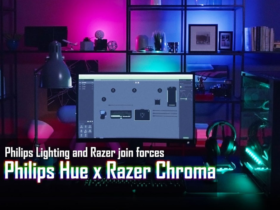Next-Level Gaming Experience With Philips Hue and Razer Chroma