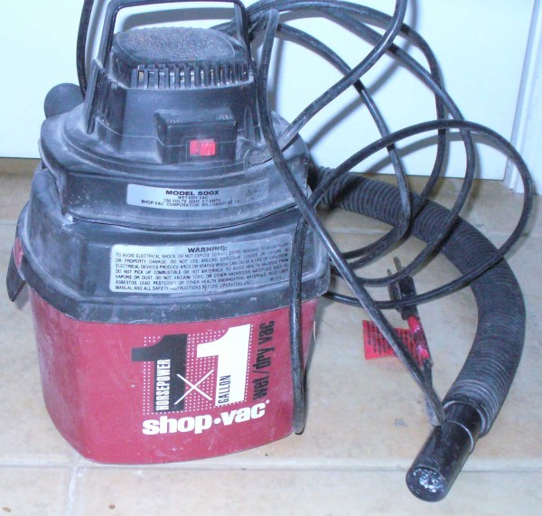 Vac Wet Dry Vacuum 1 Gallon 5.7 Amp - Small Portable
