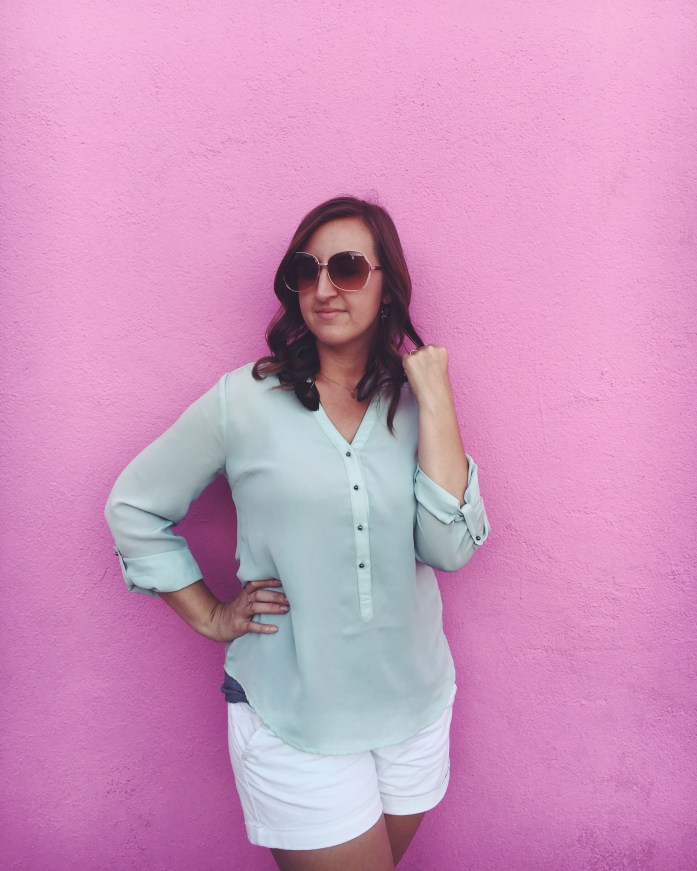 The Pink Wall at the Paul Smith Store on Melrose Avenue in Hollywood, California | The Most Instagrammable Street in LA