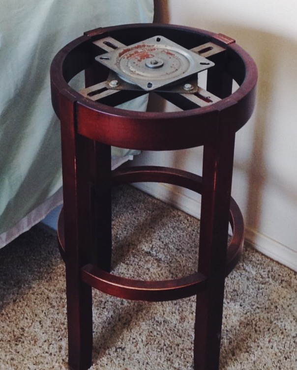 Diy Upcycled Side Table Happily Dwell