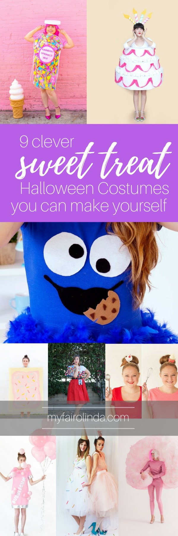 9 Clever Sweet Treat Halloween Costumes You Can Make Yourself