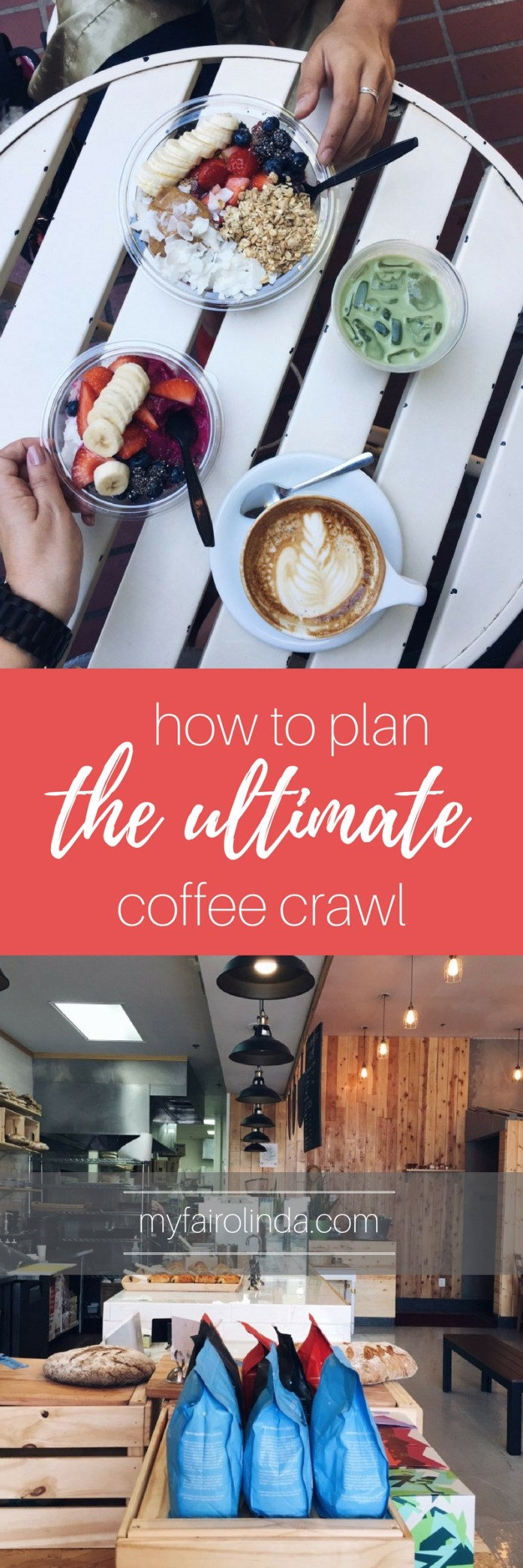 How to plan the ultimate coffee crawl. #coffee #coffeelove