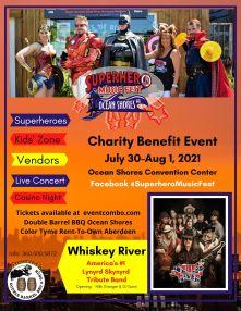superhero music fest