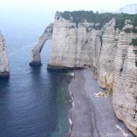 A Glimpse At The Stunning Cliffs Of Etretat in Normandy
