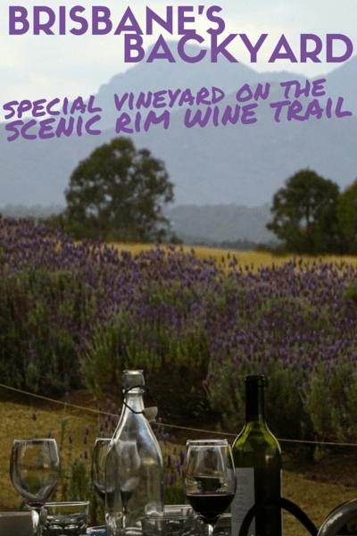 BRISBANE scenic rim wine trail