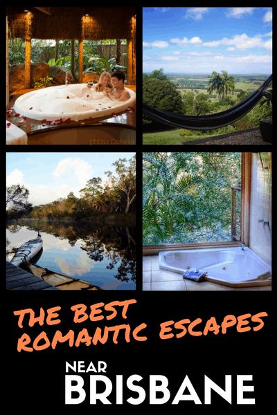 best romantic escapes near brisbane