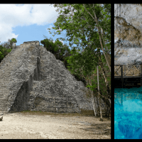 Coba: How to Climb a Pyramid, Swim in Caves & Sleep in the Jungle