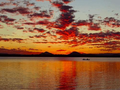 Best Brisbane Sunsets Poverty Creek Bribie Island