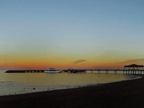 Best Brisbane sunset Redcliffe jetty