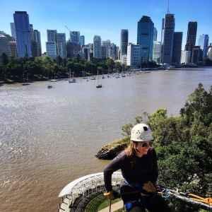 Rock Climbing and Abseiling Brisbane Kangaroo Point Cliff