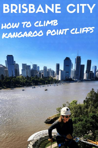 Rock climbing Kangaroo Point Cliffs - Brisbane City
