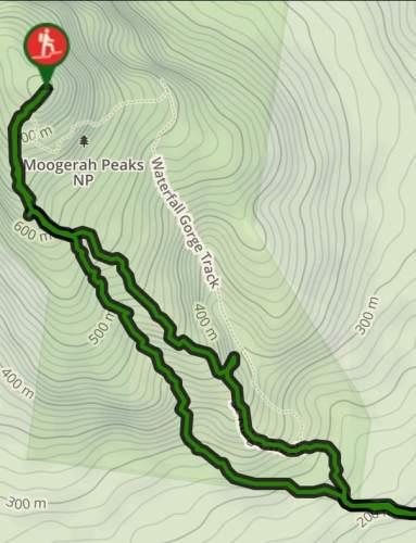 Mount Greville Map