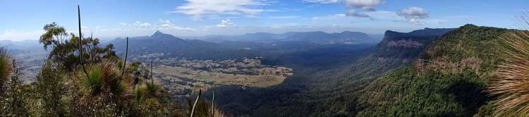 Border Ranges NP - Pinnacles Lookout