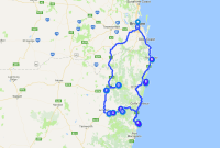 Three-Day Road Trip Circuit From Brisbane to South West Rocks