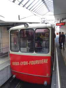 Vieux Lyon - Fourviere Funicular