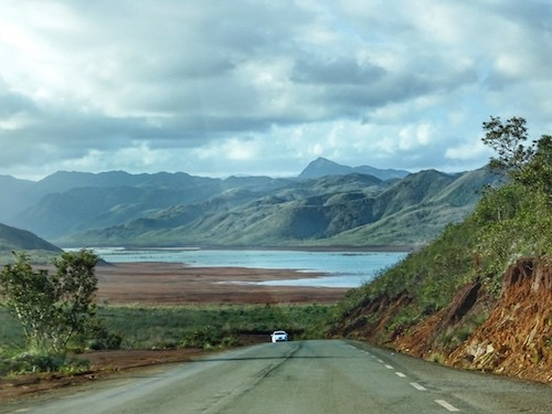 New Caledonia Trip - Driving in the South of Noumea
