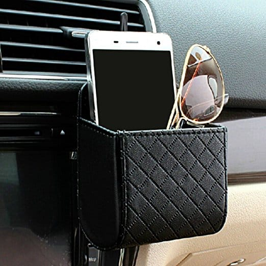 car organiser cellphone airvent