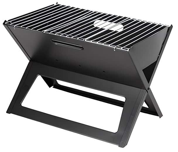 portable foldable charcoal bbq road trip