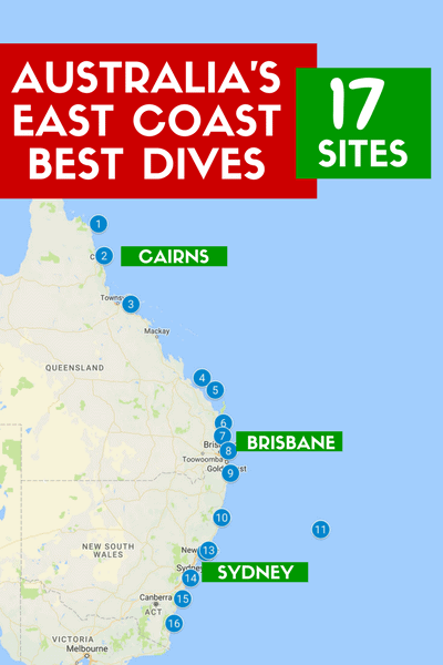 Australia-East-Coast-Best-Dives-Cairns-Brisbane-Sydney-scuba diving