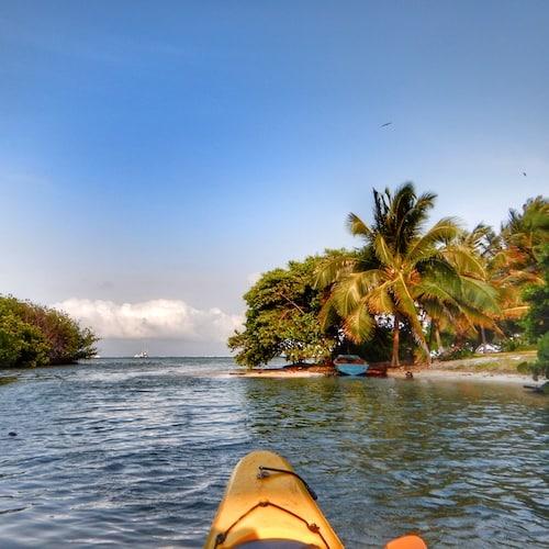 xcalak - kayaking 01