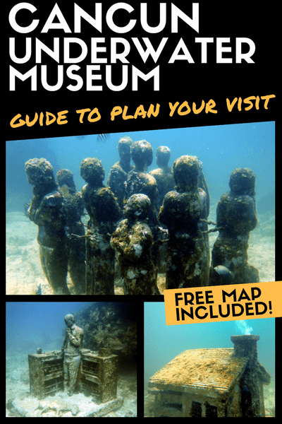 The MUSA Diving Cancun Underwater Museum - Guide to plan your visit