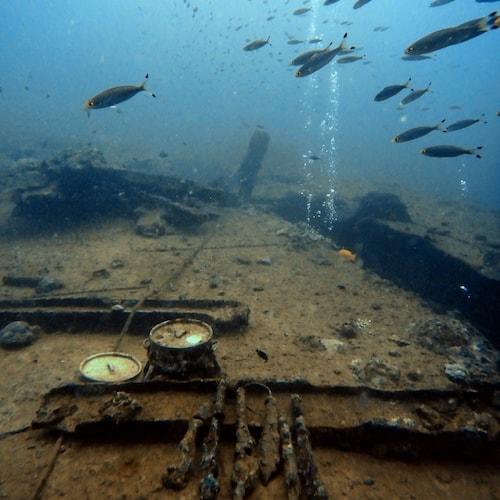 what to do in Vanuatu - scuba diving SS Coolidge Santo