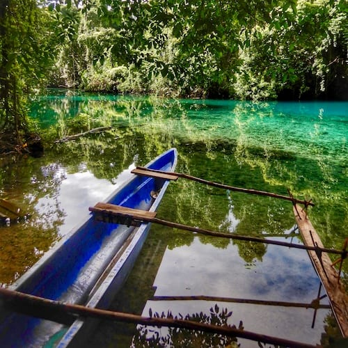 Santo Blue Holes - Riri River