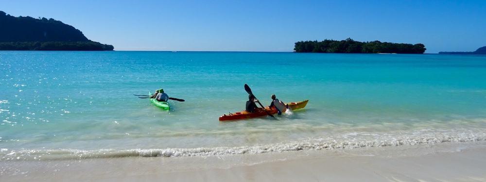 Kayaking Espiritu Santo Port Olry