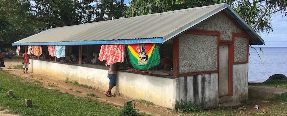 Luganville local food Espiritu Santo Vanuatu
