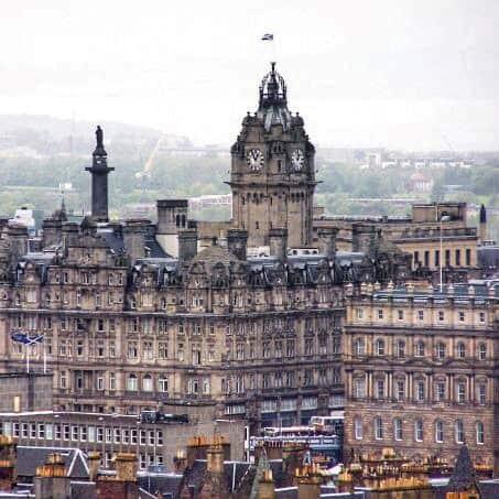 Close Up View Edinburgh