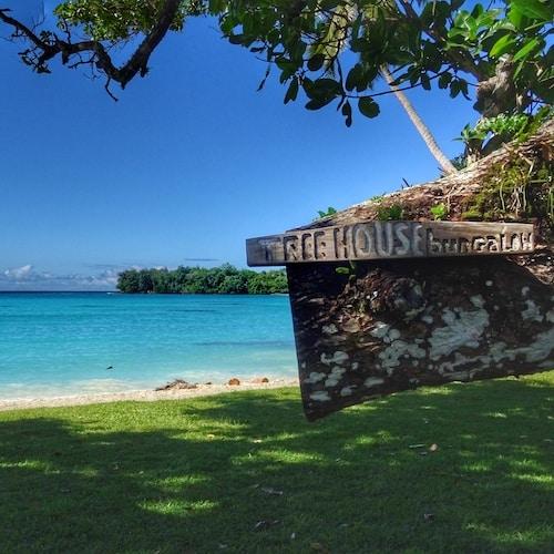 Tree House Bungalow Serenity Beach Port Olry - Accommodation Espiritu Santo