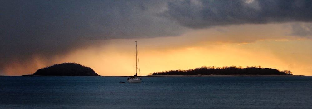 Whitsunday Islands Sailing Trip Rain