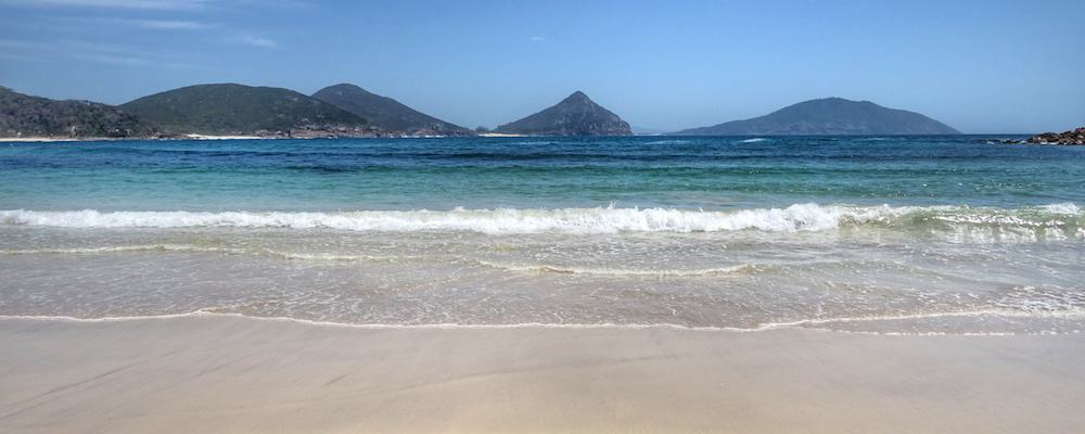 View from Fingal Spit Port Stephens