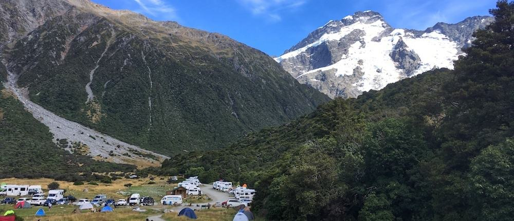 Mt Cook White Horse Hill Campground