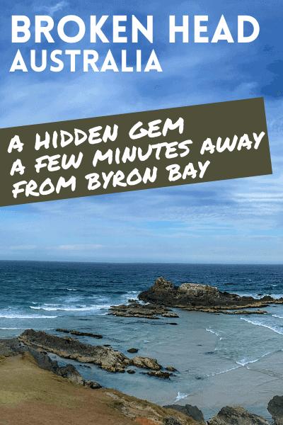Broken Head Beach pin: a hidden gem a few minutes away from Byron Bay