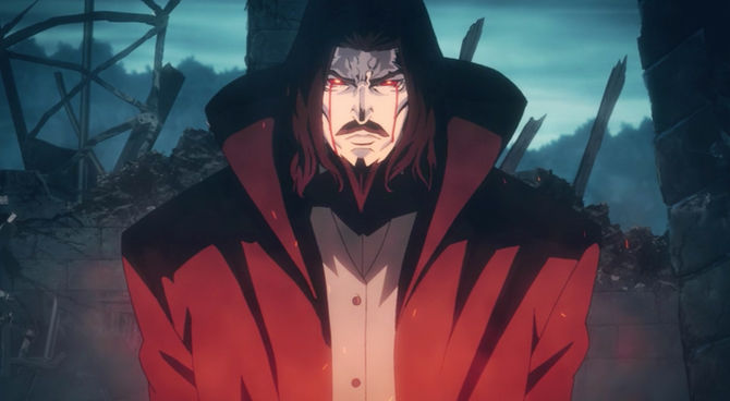 Image result for castlevania anime dracula