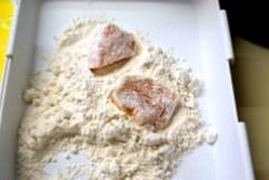 dredge in flour