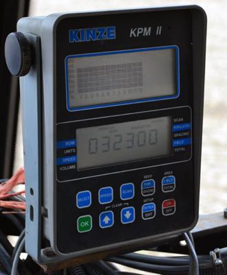 planting density monitor