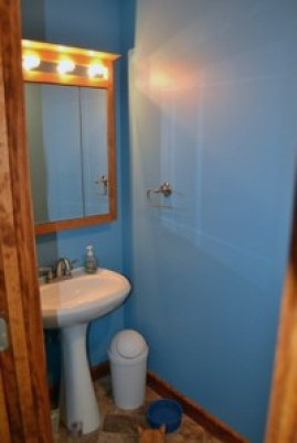 moved in half bathroom 1
